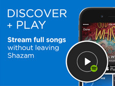 Shazam / Spotify Launch Ads