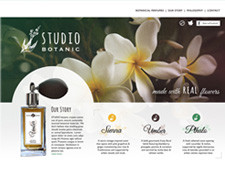 Studio Botanic Website