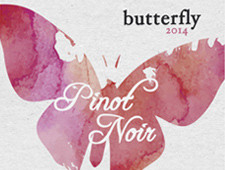Butterfly Pinot Wine Label